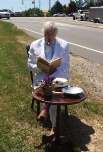 Mark Twain Sitting by I-540