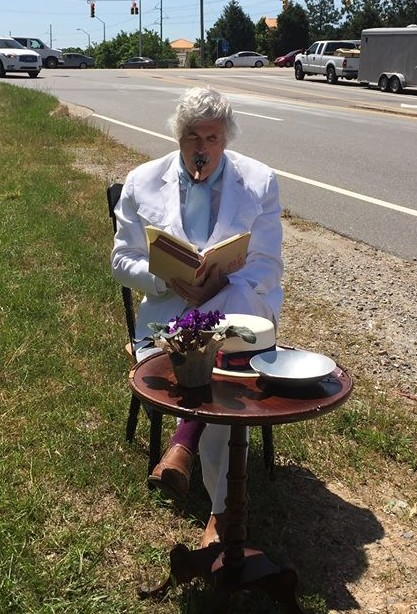Mark Twain Sitting by I-540