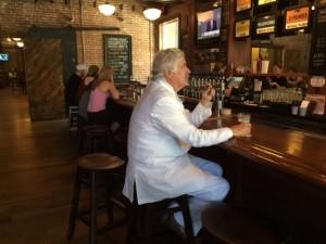 Mark Twain At The Bar