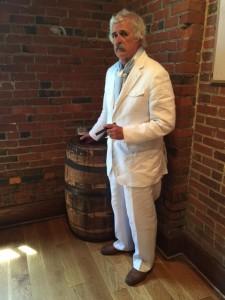 Don McNeill as Mark Twain